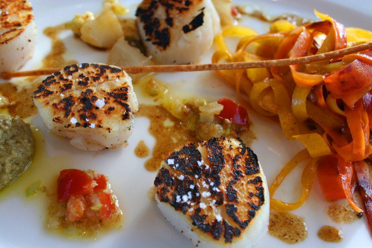 Noix de Saint-Jacques - gastronomie Normande