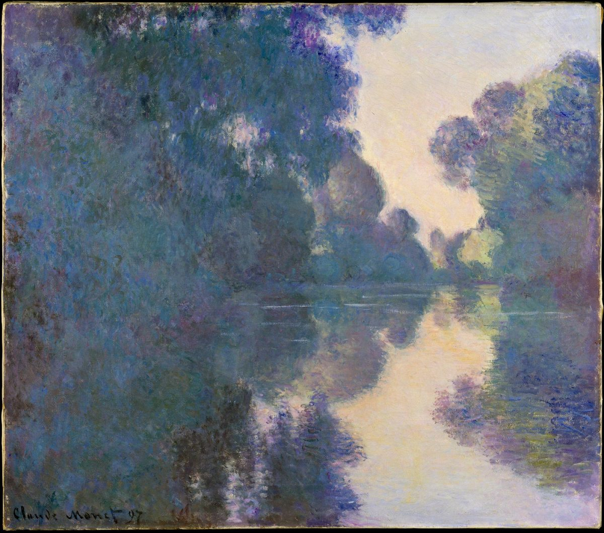 Bras de seine près de Giverny Claude Monet