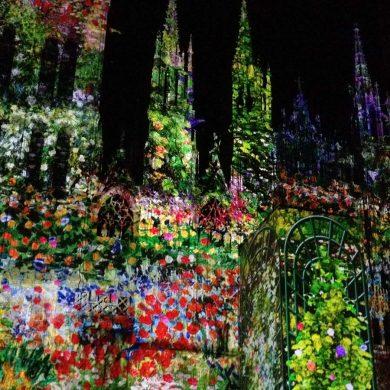 De cathédrale de lumière van Rouen