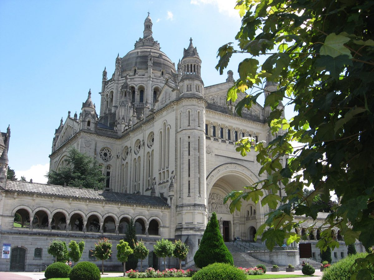 La basilique de Lisieux