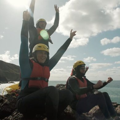 Coasteering in de Cotentin
