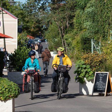 Een dag fietsen in Giverny