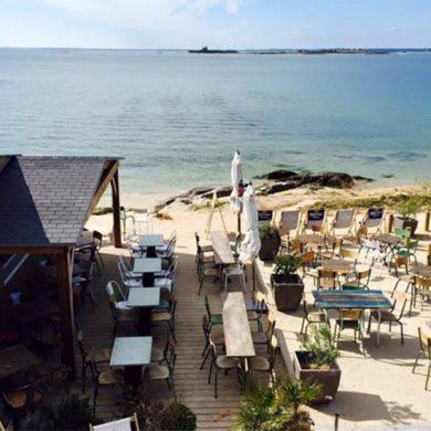 Restaurants aan de kust