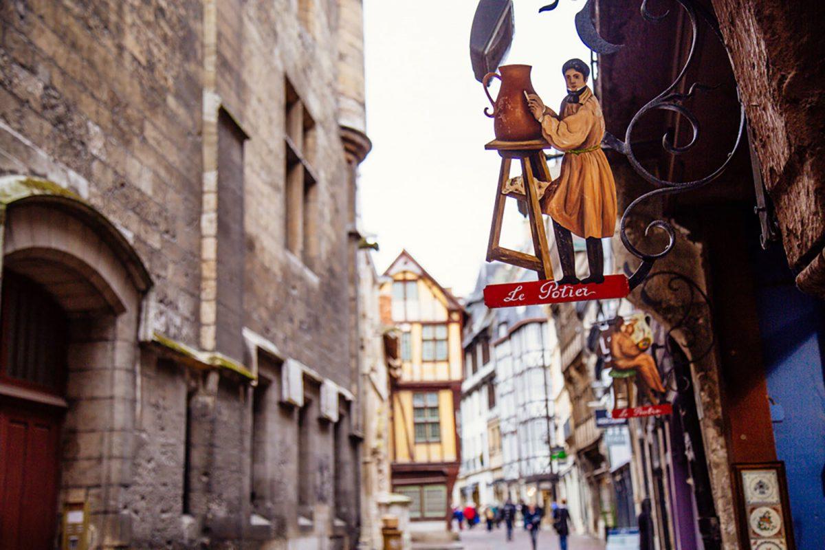 Centre-ville de Rouen