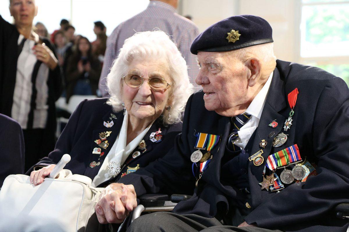Vétérans au forum mondial Normandie pour la Paix - D-Day