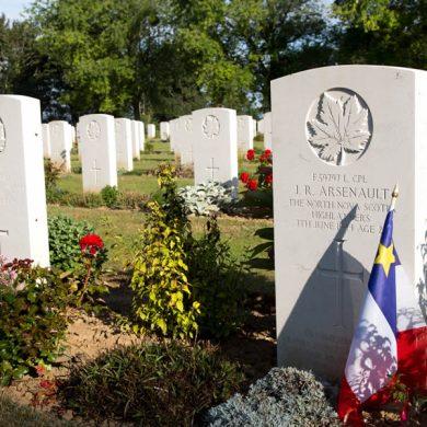 Canadese begraafplaats in Reviers